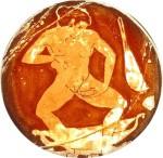 Лобковые вши у женщин, греческая ваза